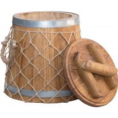 Кадка Премиум 6 л (кавказский дуб)